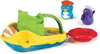 Лодка с животни - Детска играчка за баня -