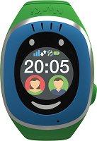 Детски GPS и GSM смарт часовник с тъч скрийн - MyKi Touch Blue - Работещ със SIM карти на всички български мобилни оператори
