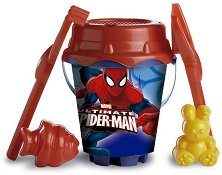 Комплект за игра с пясък - Spiderman - Детски играчки - играчка