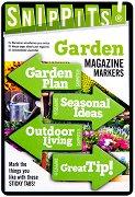 Самозалепващи отметки - Garden - Комплект от 100 броя с размери 4.7 x 3 cm