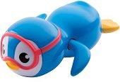 Плуващо пингвинче - Детска играчка за баня - играчка
