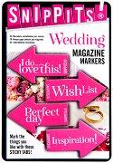 Самозалепващи отметки - Wedding - Комплект от 100 броя с размери 4.7 x 3 cm