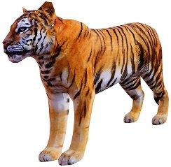 Хартиен свят: Тигър - 3D модел за сглобяване - фигура