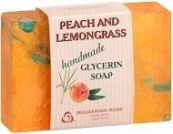Глицеринов сапун с праскова и лимонена трева -
