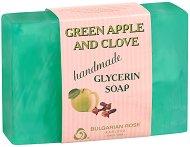 Глицеринов сапун със зелена ябълка и карамфил -