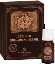 100% Натурално розово масло - В картонена кутия - лосион