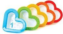 Сърчица - Комплект от 5 броя играчки за баня -