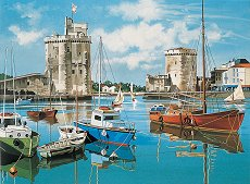 Нарисувай сам картина - Порт де ла Рошел - Творчески комплект - творчески комплект