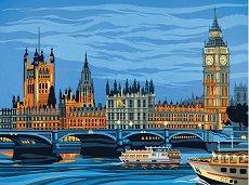 Нарисувай сам картина - Уестминстърски дворец - Творчески комплект - продукт