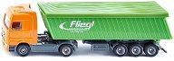 """Камион с покрито ремарке - Mercedes-Benz Actros - Метална играчка от серията """"Super: Transport"""" - играчка"""