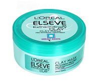 Elseve Extraordinary Clay Mask - Маска за мазни корени и сухи краища с глина - пяна