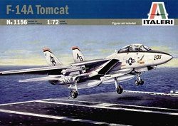 Военен самолет - F-14A Tomcat - Сглобяем авиомодел -