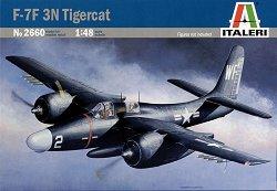 Военен самолет - F-7F 3N Tigercat - Сглобяем авиомодел - макет