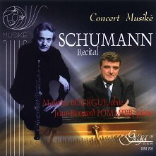 Schumann. Recital - Maurice Bourgue, Jan Bernard Pommier -