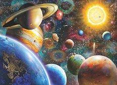 Планети в космоса - пъзел