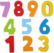 Цифрите - Детски образователен комплект от дърво -