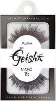 """Aura Geisha Maiko 15 - Мигли от естествен косъм от серията """"Geisha"""" -"""
