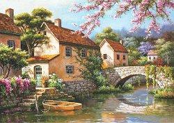 Каналът покрай селото - Сунг Ким (Sung Kim) - пъзел