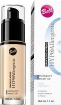 "Bell HypoAllergenic Mat & Soft Make-Up - Хипоалергенен матиращ фон дьо тен от серията ""HypoAllergenic"" - пудра"
