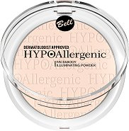 "Bell HypoAllergenic Face & Body Illuminating Powder - Хипоалергенна озаряваща пудра за лице и тяло от серията ""HypoAllergenic"" - маска"
