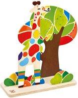 Създай сам - Приятели в джунглата - Творчески комплект с бои -
