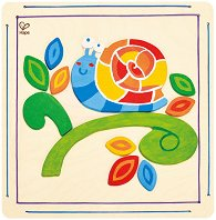 Създай сам - Щастлив охлюв - Творчески комплект с бои -