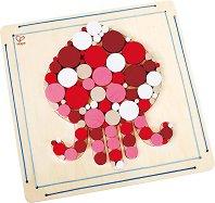 Направи сам мозайка - Октопод - Творчески комплект от дърво -
