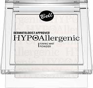 """Bell HypoAllergenic Fixing Mat Powder - Хипоалергенна фиксираща пудра за лице с матов финиш от серията """"HypoAllergenic"""" - очна линия"""