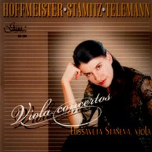 Elissaveta Staneva - Hoffmeister, Stamitz, Telemann: Viola concertos -