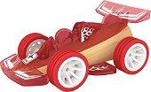 Състезателен автомобил - Дървена играчка - количка