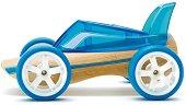 Автомобил - Roadster - Дървена играчка - творчески комплект