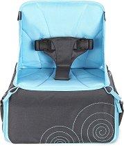 Чанта-столче 2 в 1 - GoBoost: Blue - Аксесоар за бебешки принадлежности -