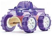 Камион - Чудовище - Детска дървена играчка - играчка