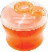 """Оранжев контейнер за сухо мляко с 3 отделения - От серията """"Latch"""" -"""