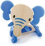 Слонче - Дървена мини фигура -