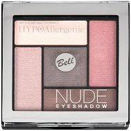 """Bell HypoAllergenic Nude Eyeshadow - Палитра с хипоалергенни сенки за очи от серията """"HypoAllergenic"""" - спирала"""
