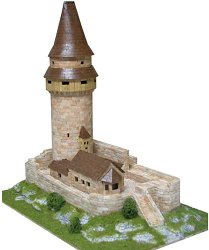 Stramberk tower - Сглобяем модел от тухлички -