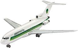 Boeing 727-100 Germania - Сглобяем авиомодел -