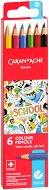 """Акварелни цветни моливи - Soft lead - Комплект от 6, 12 или 18 цвята от серията """"School"""""""