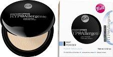 "Bell HypoAllergenic Mat Powder Natural Effect - Хипоалергенна матираща пудра за лице от серията ""HypoAllergenic"" - продукт"