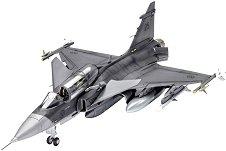 Изтребител - Saab JAS-39D Gripen TwinSeater - Сглобяем авиомодел - продукт