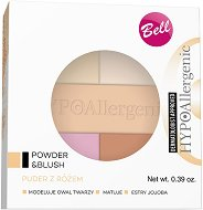 "Bell HypoAllergenic Powder & Blush All In One - Палитра от хипоалергенна пудра и руж за лице от серията ""HypoAllergenic"" - продукт"