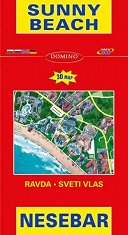 Карта на Слънчев бряг, Несебър, Равда и Свети Влас Map of Sunny Beach, Nesebar, Ravda and Sveti Vlas -