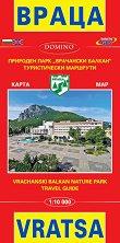 Карта на Враца Map of Vratsa -