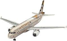 Пътнически самолет - Airbus A320 Etihad Airways - Сглобяем авиомодел -