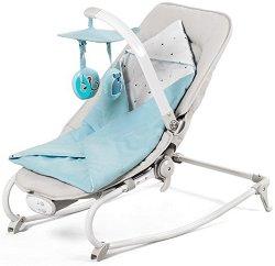 Сгъваем бебешки шезлонг - Felio - С вибрация и мелодии - продукт