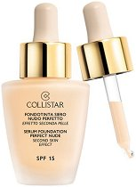 Collistar Serum Foundation Perfect Nude - SPF 15 - Дълготраен фон дьо тен за безупречна визия - продукт