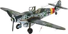 Военен самолет - Messerschmitt Bf109 G-10 - Сглобяем авиомодел - макет