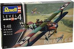 Военен самолет - Roland C.II - Сглобяем авиомодел - макет