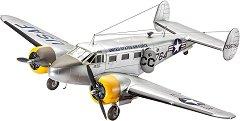 Военен самолет - C-45F Expeditor - Сглобяем авиомодел -